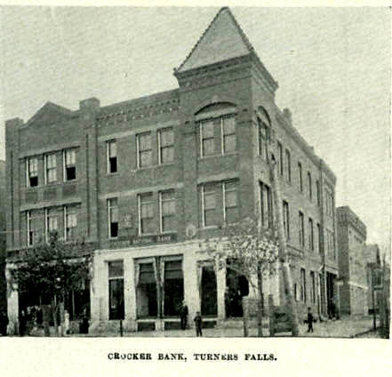 Turners Falls Crocker Bank