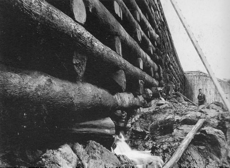 Turners Falls 1866 Crib Dam
