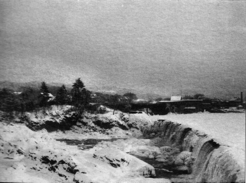 Turners Falls 1903 Old Crib Dam