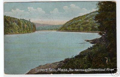 Turners Falls The Narrows Conn River