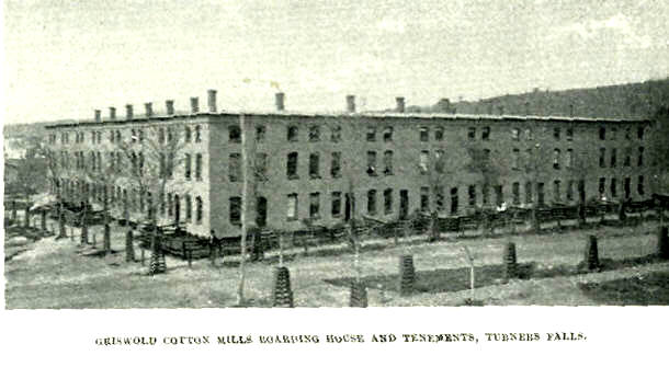 Turners Falls Griswold Tenements