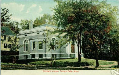 Turners Falls Carnegie Library