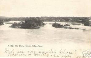Turners Falls The Dam