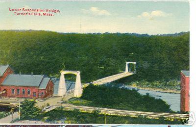 Turners Falls Lower Suspension Bridge