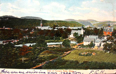 Turners Falls View of village