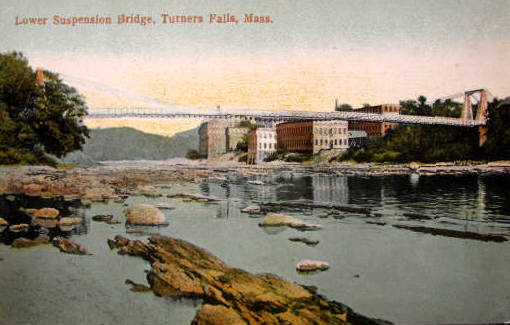 Turners Falls Suspension Bridge