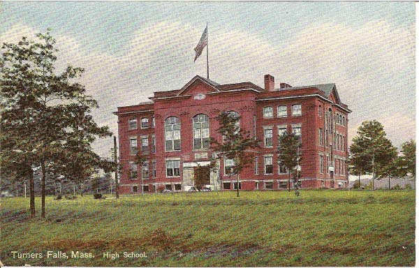 Turners Falls High School 1909