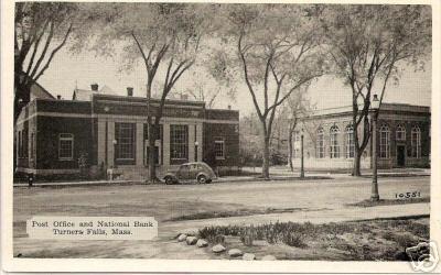Turners Falls Bank & Post Office
