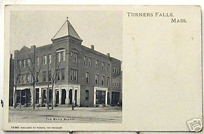 Turners Falls Bank Block