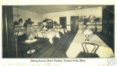 Turners Falls Vladish Dining Room