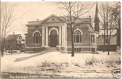Turners Falls Carnegie Library