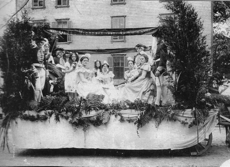 Turners Falls 1897 Parade