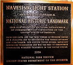 Twin Lights National Dedication 2006-10-28