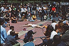 4*Fri, Jun 28, 1968<br /> *People:<br /> Subject: drugged out hippie<br /> *Place: Sproul Plaza, campus<br /> Activity: <br /> Comments: now days, wouldn't even get a glance.  Then, people fascinated. Briefcase, but no backpacks nor fanny pacs at this date.
