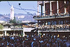 4*Mon, Nov 18, 1968<br /> *People:  crowd<br /> Subject: <br /> *Place: lower Sproul Plaza, UCB<br /> Activity: <br /> Comments: watching dancing of famous porn star, Vicki Drake.