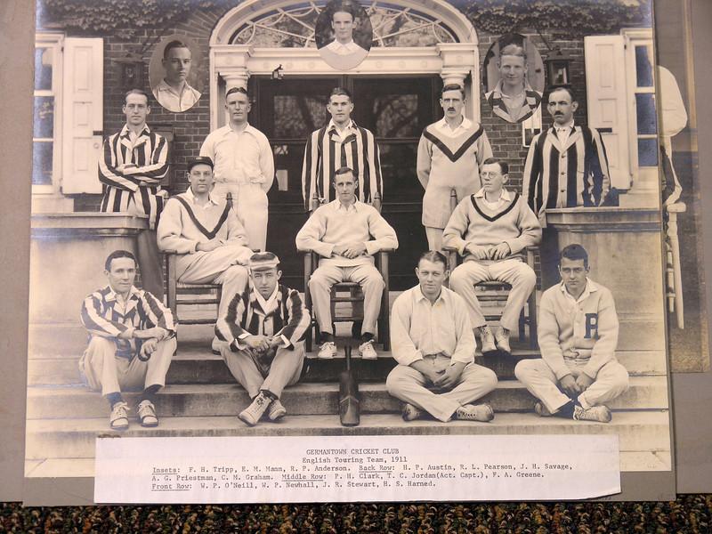 Germantown Cricket Club English Touring Team 1911