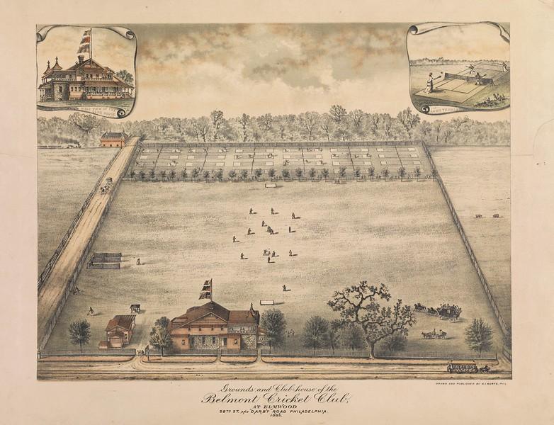 Belmont Cricket Club (Elmwood) c 1885