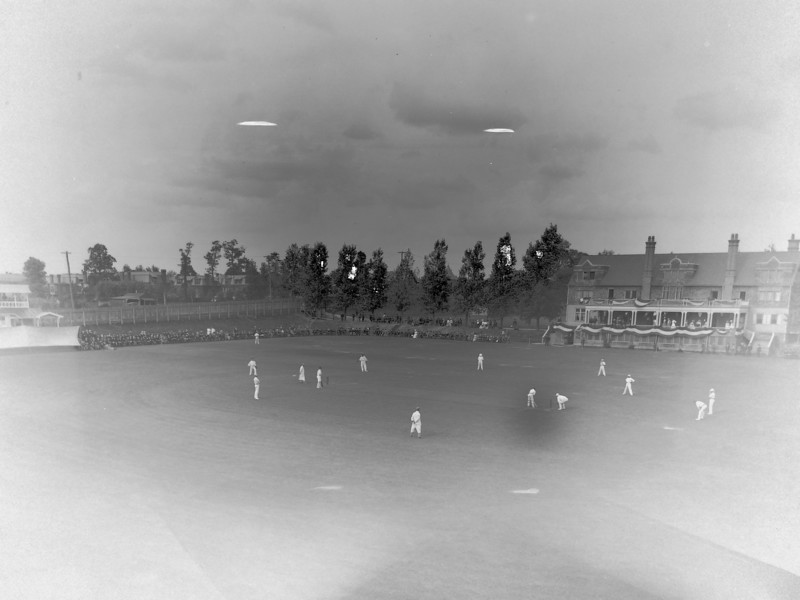Belmont Cricket Club, 25-27 Sept 1899, Philadelphia Colts vs Ranjitsinhji's XI