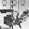 Time zones were denoted, too.