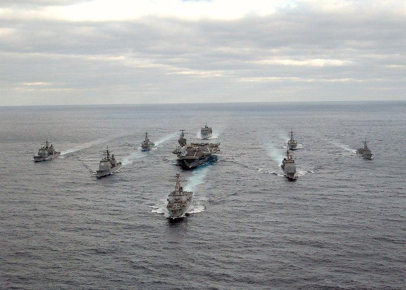 USS GEORGE WASHINGTON BATTLE GROUP