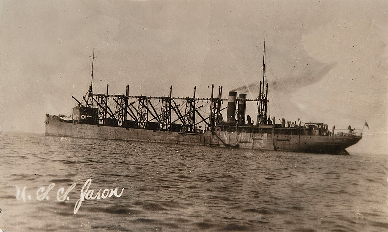 USS Jason (Collier # 12, later AC-12 and AV-2), 1913-1936