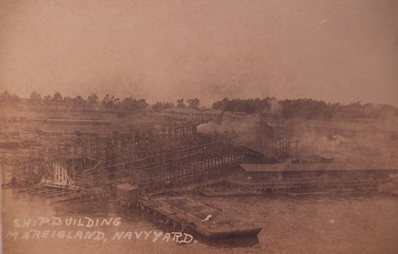 "Mare Island Navy Yard, California.<br />  <a href=""http://www.navsource.org/archives/01/14.htm"">http://www.navsource.org/archives/01/14.htm</a><br />  <a href=""http://www.navsource.org/archives/01/011419.jpg"">http://www.navsource.org/archives/01/011419.jpg</a>"