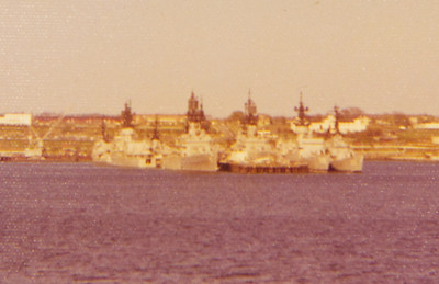 Newport dock