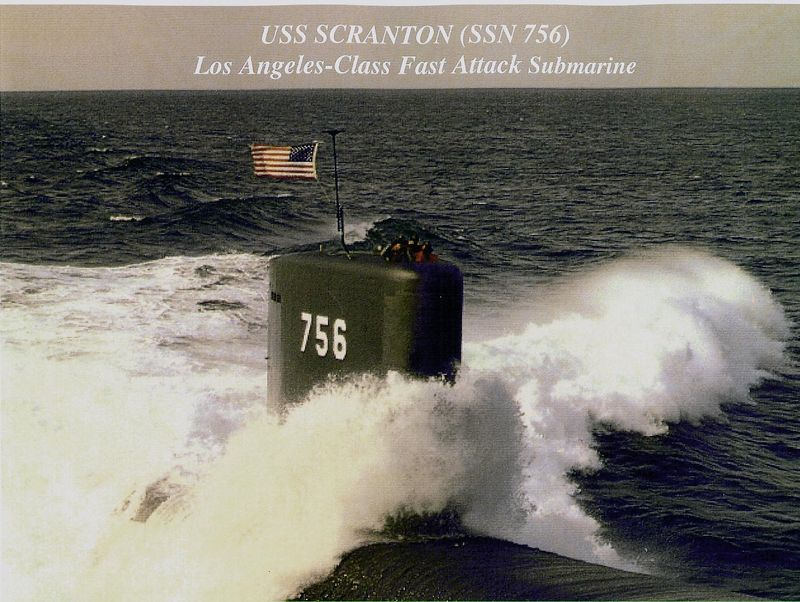 The USS Scranton <br /> A nuclear powered attack submarine.