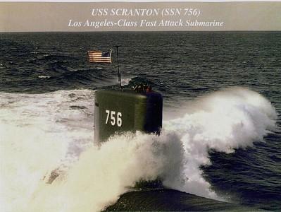 USS Scranton SSN 756