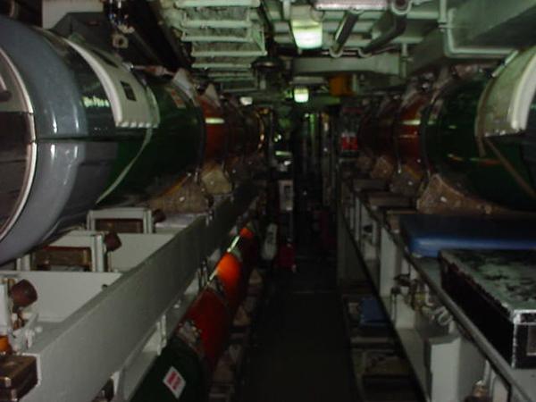 In the torpedo room