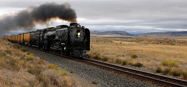 Union Pacific Steam Engine X-844