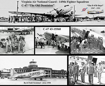 C-47 43-15568 THE OLD DOMINION COLLAGE 001 copy A