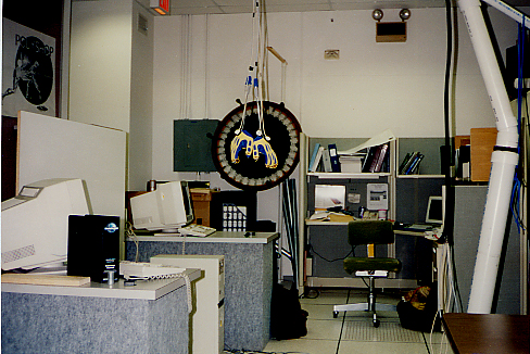 Equipment developed and used by The Toy Scouts, at the UCF Institute for Simulation and Training, c. 1991-1994