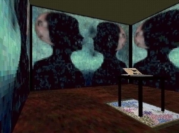 Virtopia: The Conversation Room One of several experiences.  Virtopia was a VR art piece done by Jacki Morie and Mike Goslin in the early 1990s to show that VR could evoke emotional responses from participants.