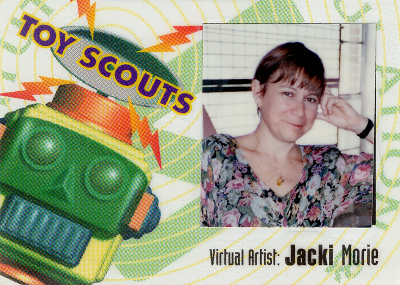 How to describe the Toy Scouts? Founded by Dam Mapes and Mike Moshell, this after-hours group of undergrads and high school studnets used the Army's VR equipment to make full body immersive games that were SO MUUCH FUN!
