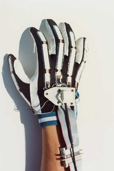 The first pinch glove, by Dan Mapes