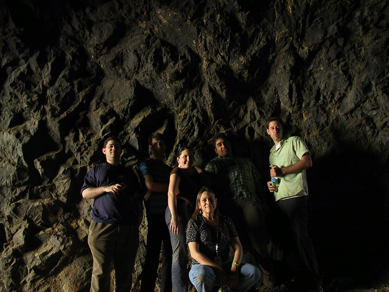 The Sensory Environments Evalutaion (SEE) crew visits a cave in Griffith Park to get the full experience to recreate in VR