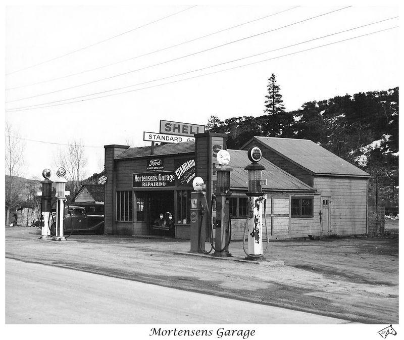 Mortensens Garage Restored