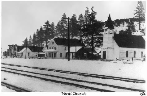 Verdi Church Restored