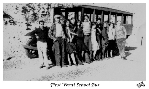 First Verdi School Bus