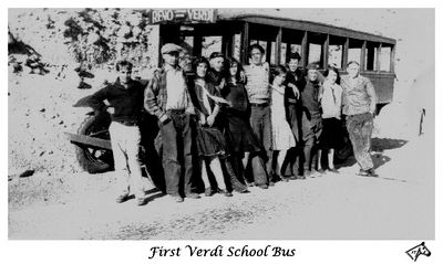 First Verdi School Bus