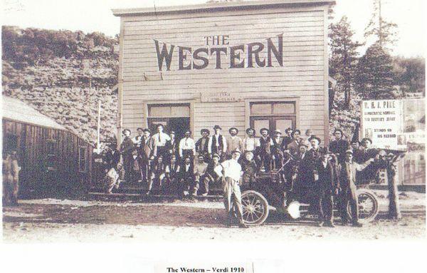 Western Hotel- 1910- Original