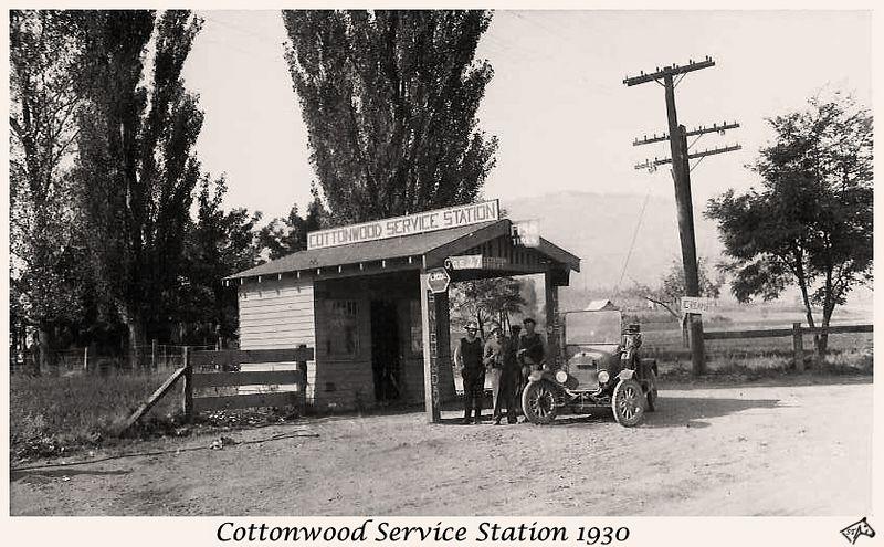 Cottonwood Service Station 1930- Restored