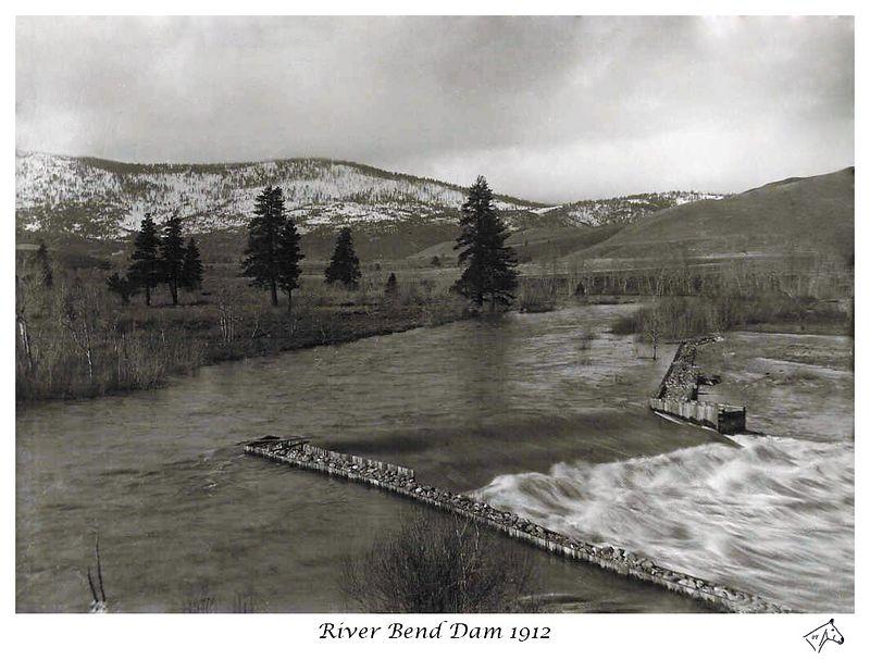 Riverbend Dam Restored