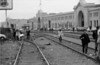 3*Sat, Nov 15, 1969<br /> *People: marchers<br /> Subject: railroad tracks<br /> *Place: embarcadero, san francisco<br /> Activity: <br /> Comments: