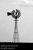 Windmill at an abandoned farm
