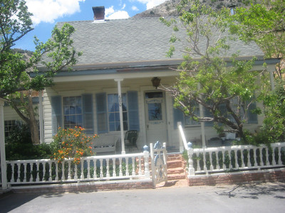 House where Phyllis Bassett's Great Grandmother Mary and Great Aunt Cora once lived.