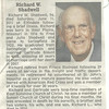 7. Richard died in 2011 and is buried in Rogersville, Missouri.
