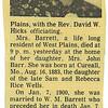 16. Her obituary.