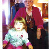 3. Billie Lou Wells Hill with one of her grandchildren.